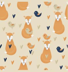 fox concept design vector image