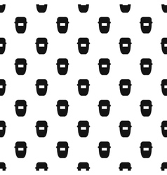Mask of welder pattern simple style vector image vector image