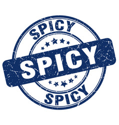 Spicy stamp vector