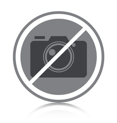 No photography allowed vector