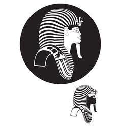 Tutankhamun vector image