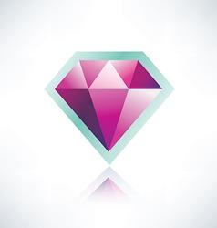 Diamond symbol vector