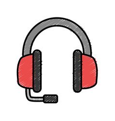 headphones icon image vector image vector image