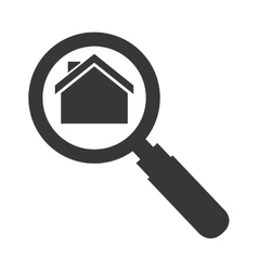house lupe search vector image