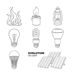 lighting equipment vector image