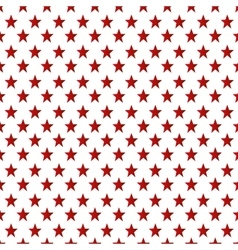 pattern stars background icon vector image vector image