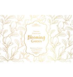 White invitation card design vector
