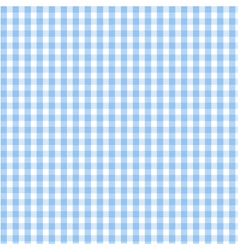 seamless blue plaid pattern vector image