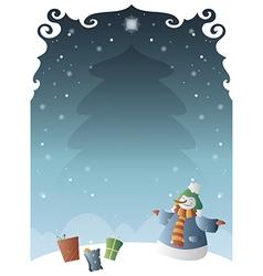 Christmas poster 03 vector