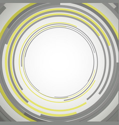 concentric circles abstract element vector image