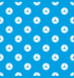 objective pattern seamless blue vector image vector image