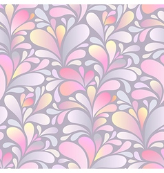 Paisley pattern pink vector