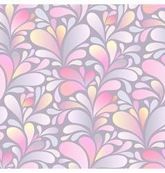 paisley pattern pink vector image
