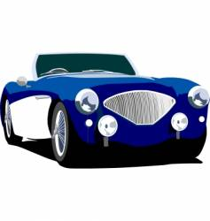 Sports coupe vector