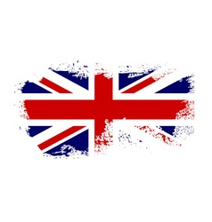 British flag grunge-04 vector