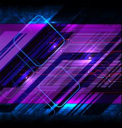 cyber digital circuit board vector image
