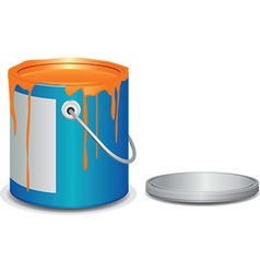Paint bucket vector