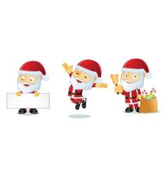 Santa 1 vector image vector image