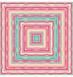 Seamless striped rectangle ornamental pattern vector image vector image