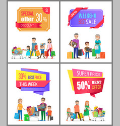 Super price offer discount week best cost sale vector