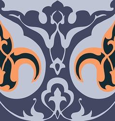 Vintage floral pattern seamless background vector