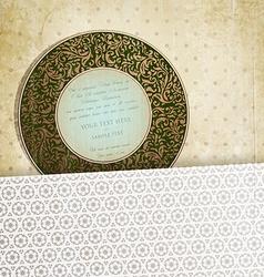 Invitation Design vector image