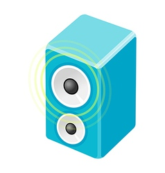 Icon speaker vector