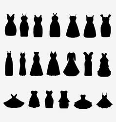 Cocktail dresses vector