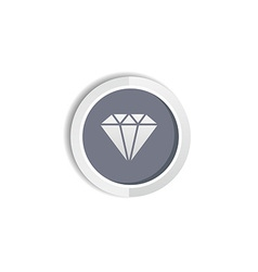 Diamond jewelry vector