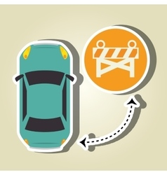Car service design vector