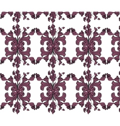 Classic vintage ornament pattern vector