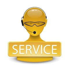 servicepoint vector image