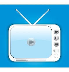 Digital tv vector