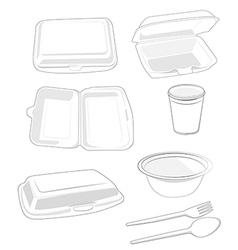 Styrofoam vector