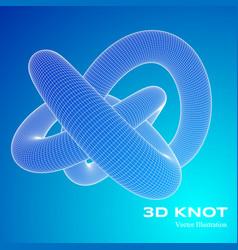 3d v vector image vector image