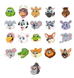 Collection of animal vector image