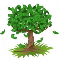 Money growing on tree vector