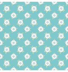 Vintage floral seamless pattern tiling vector image