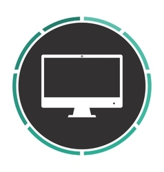 Computer display computer symbol vector