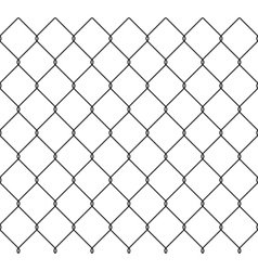 Metallic wired fence seamless pattern vector