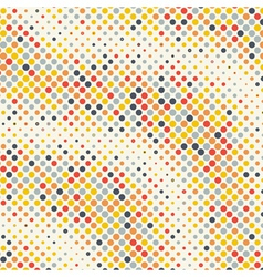 Abstract geometric circle dots colorful background vector image