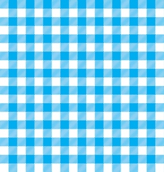 Blue table cloth background seamless pattern vector