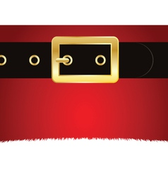 Christmas buckle vector