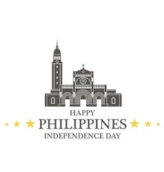 Independence Day Philippines vector image vector image