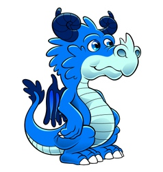 Little dragon vector