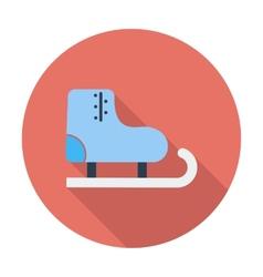 Racing skates vector image vector image