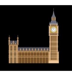 the Big Ben vector image vector image