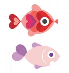 aquarium fish vector image