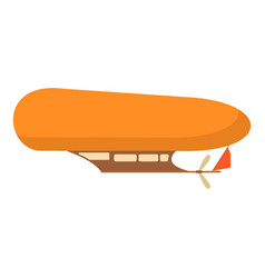 Airship icon cartoon style vector