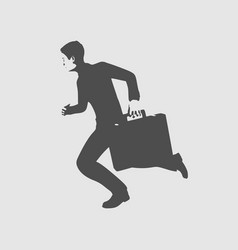 business man concept vector image